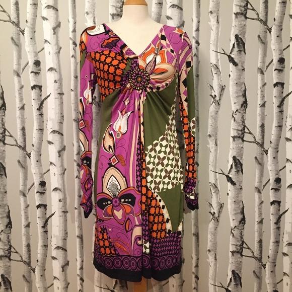 ECI Dresses & Skirts - Unique ECI New York Sheath Dress, Beaded Detail